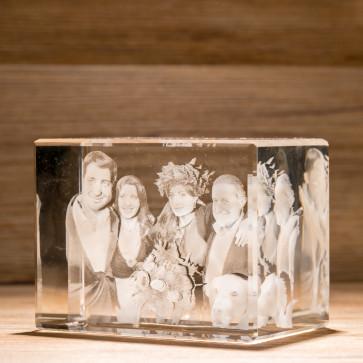 Rettangolo Crystal R130 5 soggetti 3D
