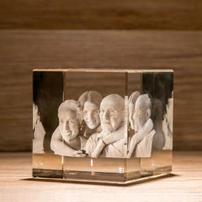 Cubo Crystal C100 4 Soggetti 3D