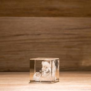 Cubo Crystal C50 1 Soggetti 3D