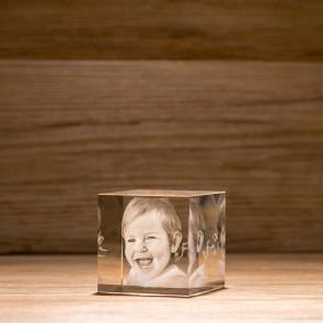 Cubo Crystal C60 2 Soggetti 3D