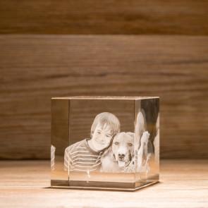Cubo Crystal C80 3 Soggetti 3D