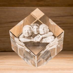 Cubo 45° Crystal CC100 4 Soggetti 3D