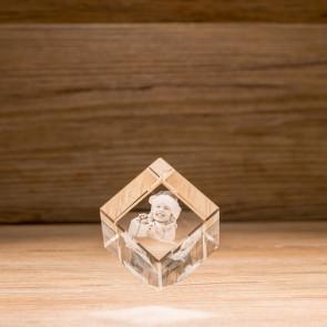 Cubo 45° Crystal CC50 1 Soggetti 3D