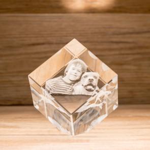 Cubo 45° Crystal CC80 3 Soggetti 3D