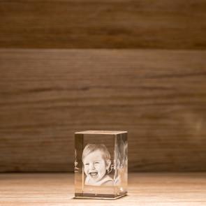 Rettangolo Crystal R60 1 soggetto 3D