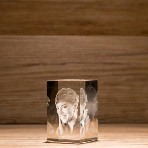 Rettangolo Crystal R80 1 soggetto 3D