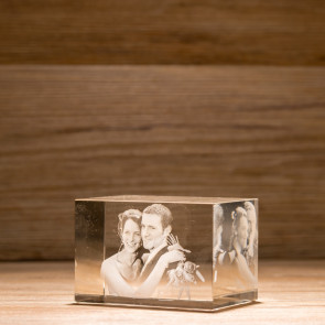 Rettangolo Crystal R90 2 soggetti 3D