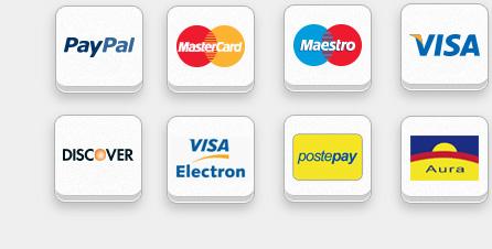 Pagamento carte di Credito